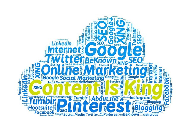 content is king - seo